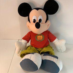 "Disney Jumbo Mickey Mouse  24"" Fisher Price Mattel"